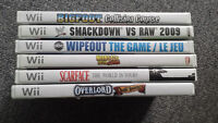 6 wii games for sale