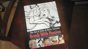 Brush With Passion - Dave Stevens art book (out of print)