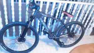 Custom made kona blast hardtail mountain bike