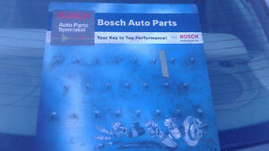 small bosch display board for shop or man cave