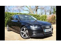 *REDUCED* Audi A4 2.0 TDI SE in Phantom Black with Titanium Rotor Alloys