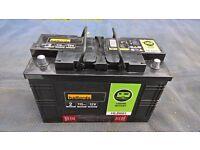 Halfords 115Ah leisure battery