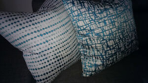 Quality!!Turquoise foam accent pillows