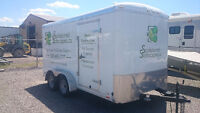 14' Cargo trailer with ramp gate