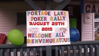 POKER RALLY- All are welcome/ Bienvenue a tous!