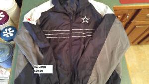 Dallas Cowboys adult sz large jacket