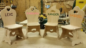 Custom made changing tables and more