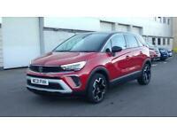 2021 Vauxhall CROSSLAND 1.2 Turbo [130] Elite Nav 5dr Auto Hatchback petrol Auto