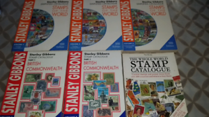 Stanley Gibons World Stamp Catalogues x5 Merrylands Parramatta Area Preview