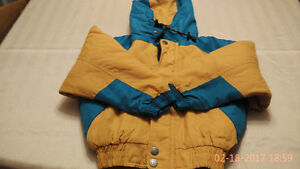 Three jackets from Size 8, 14 and Small