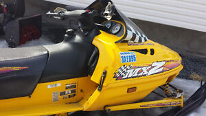 MXZ 440 Skidoo 1998 Great Condition, with very low KM!