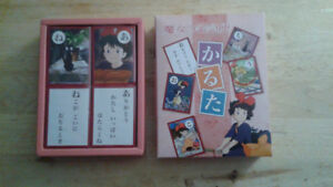 Studio Ghibli Kiki's Delivery Service karuta Playing card NEW