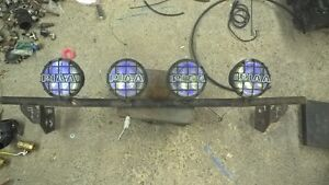 """4 PIAA 6"""" driving lights on NFAB bar for 2011-2016 super duty"""