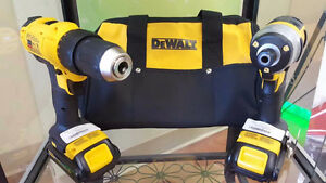 DeWalt power Drill Set