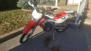 2013 CRF250L with performance upgrades