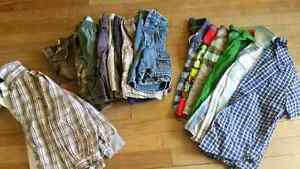 Bag of boys summer clothes size 4T