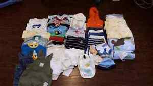 Baby Boys Clothes (0-3 months) -  LOT
