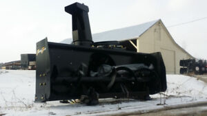 """New Terra Force Rear 3 Point Hitch Snowblowers, 64"""" or 74"""""""