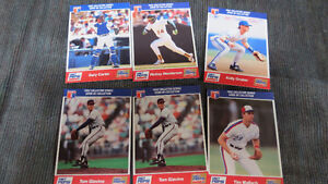 Diet Pepsi MLB cards(6) 1992