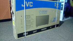 "50"" JVC TV brand new"