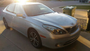 2005 Lexus ES 330 Luxury w/ remote starter, winter tires on rims