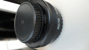 Canon T70 35 mm Camera and 3 lenses Takes film $120 . Prince George British Columbia image 4