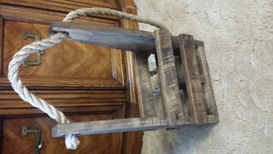 wooden wine holders/ wine racks
