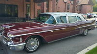 CADILLAC FLEETWOOD LIMOUSINE 1958