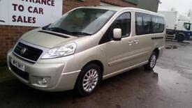 2013 Fiat Scudo 2.0JTD Multijet Panorama 8 Seats Taxi Minibus Vehicle