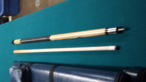 Pool Cue and Hard Case.