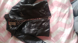GUESS LEATHER JACKET 4T