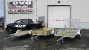 SPRING SALE ON NEW CUSTOM MADE TRAILERS