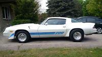 Pearl white 1981 Z28 -GREAT SHAPE