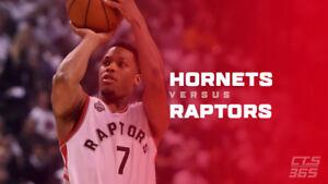 Raptors vs Charlotte Hornets - October 22 (100/300 Level)