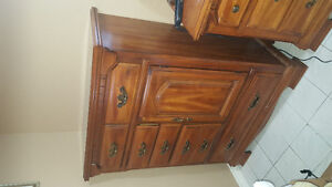 Awesome dresser units solid wood!