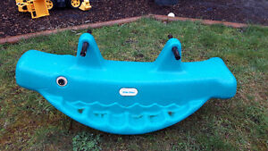 Little tykes whale teeter toter