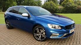 2017 Volvo V60 D6 (220) Twin Eng R DESIGN Lux Automatic Diesel/Electric Estate