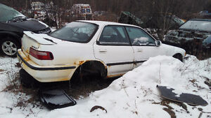 Parting out 1990-1993 Acura Integra