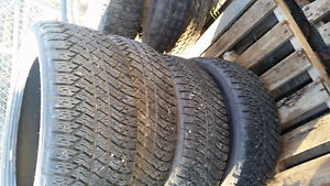 GMC 22'' Take-Off Set of 4 Bridgestone Dueler A/T P285/45R22