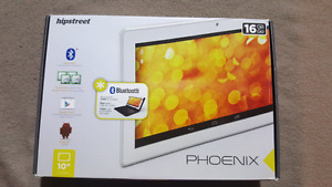 "Tablet - Hipstreet (phoenix) 16GB 10"" LCD screen w/ keyboard"