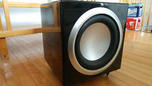 PURE ACOUSTICS SL-W10 HOME THEATER SUBWOOFER