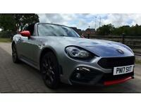 2017 Abarth 124 Spider 1.4 T Multiair with Heated Fro Manual Petrol Convertible