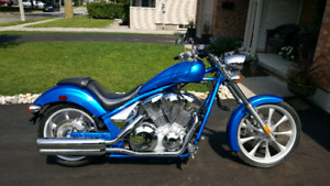New honda fury vtwin trade for classic or harley?