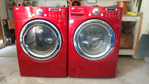 LG Steam Washer and Dryer
