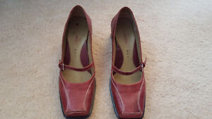 Ladies Red Mary Jane - Hush Puppies Shoes - Size 9 *PRICE DROP*