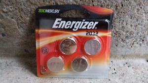 CR2032 Energizer Lithium batteries (4 pack)