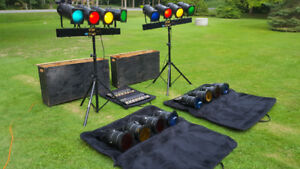 Yorkville LP-304 and LP-608 Stage lighting