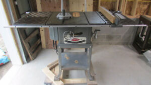 Beaver Table Saw with rare double extensions