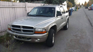 2001 Durango for parts or as is
