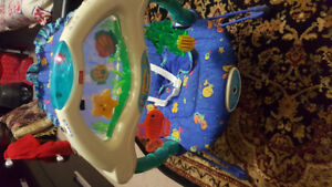 Baby bouncer with sounds
